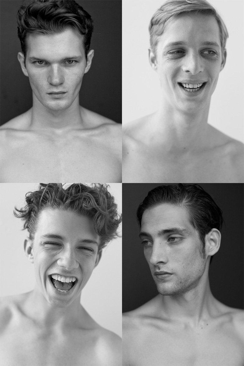Casting Call: New York Fashion Week Spring 2012 Edition | Roy Pratt, Benoni Loos, Zach King & Brian Redford by Nikolai de Vera