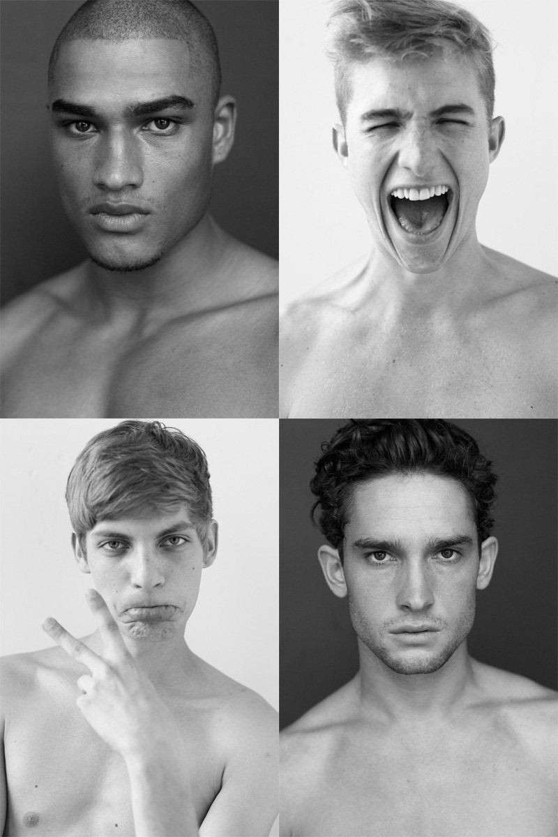 Casting Call: New York Fashion Week Spring 2012 Edition | Baptiste Radufe, Matt Giesler, Rob Evans & Samuel Farrier by Nikolai de Vera