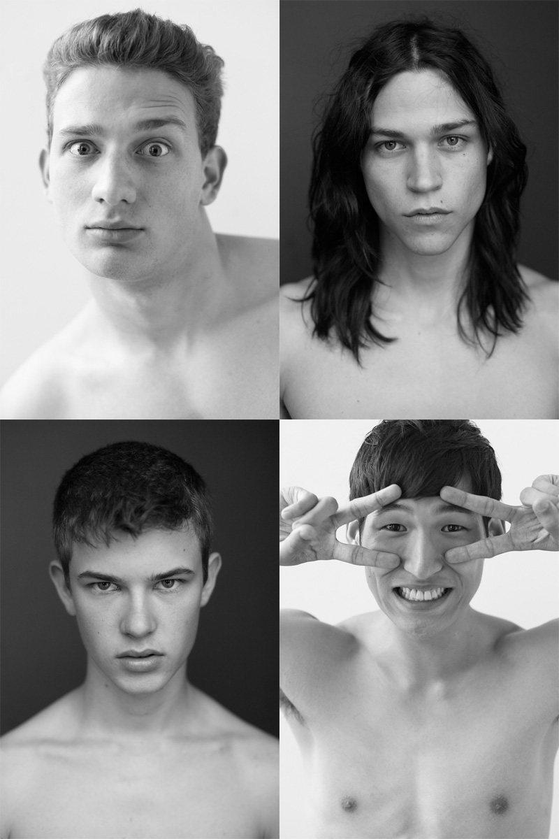 Casting Call: New York Fashion Week Spring 2012 Edition   Eden Classens, Jae Yoo, John Tuite & Miles McMillan by Nikolai de Vera