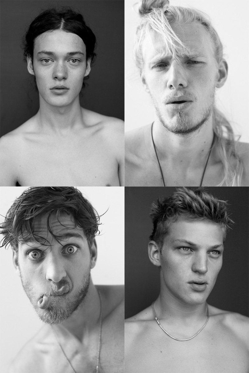 Casting Call: New York Fashion Week Spring 2012 Edition | Berthold Rothas, Chris Arundel, Sebastian Sauvé & Vincent Banic by Nikolai de Vera