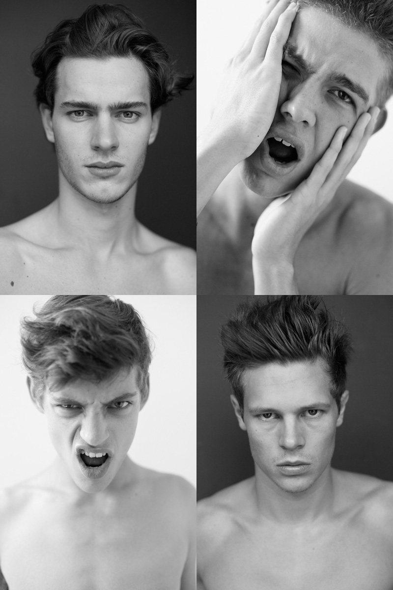Casting Call: New York Fashion Week Spring 2012 Edition   Adnan Djinovic, Arthur Devalbray, Maxwell Ronko & Petter Hedman by Nikolai de Vera