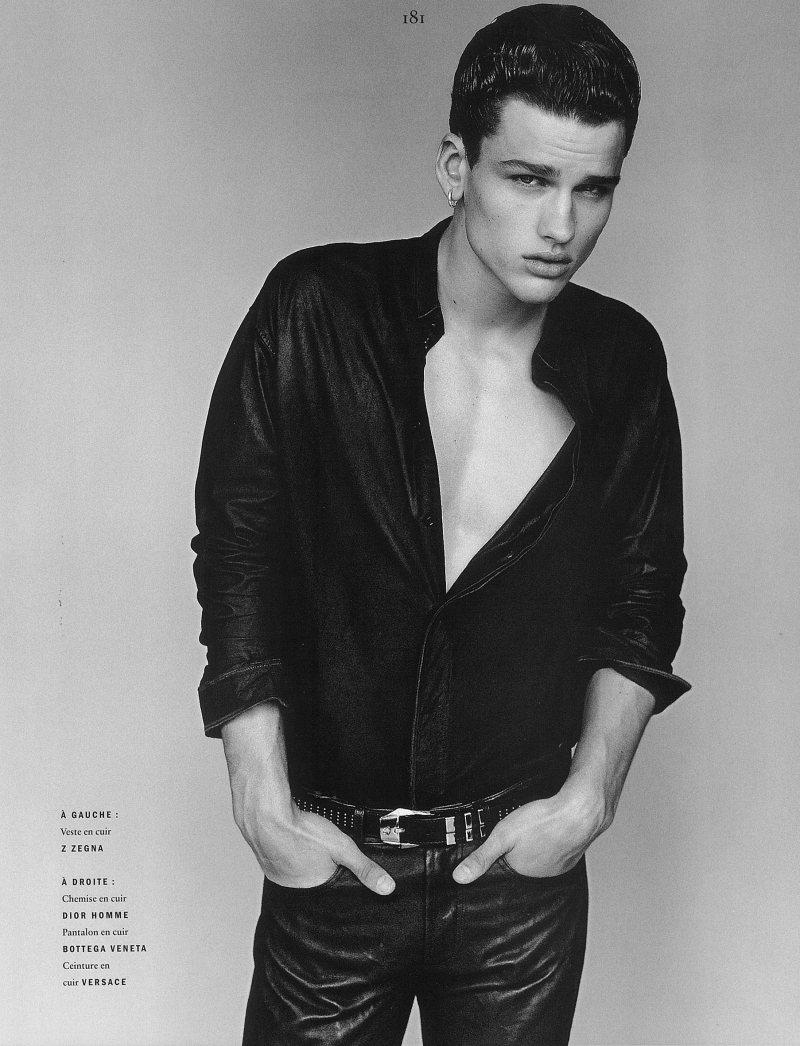 Simon Nessman by Alasdair McLellan for Vogue Hommes International