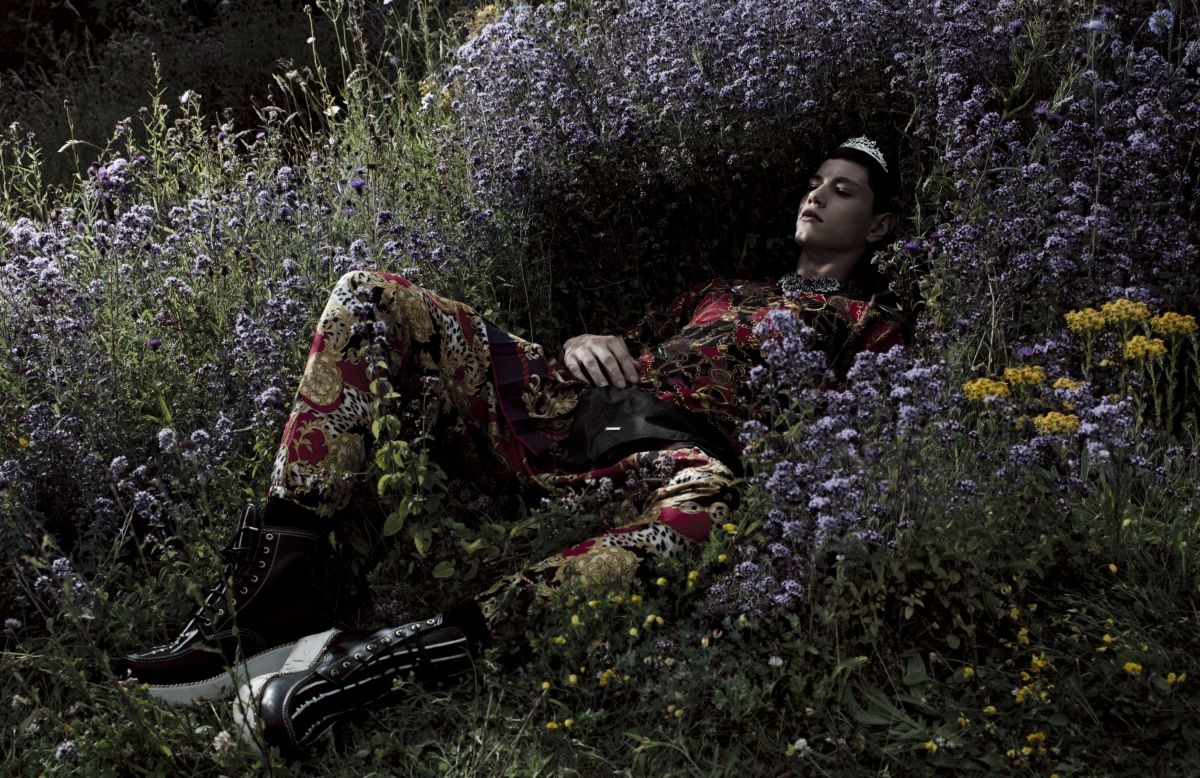 Simone Nobili by Willy Vanderperre for Vogue Hommes International