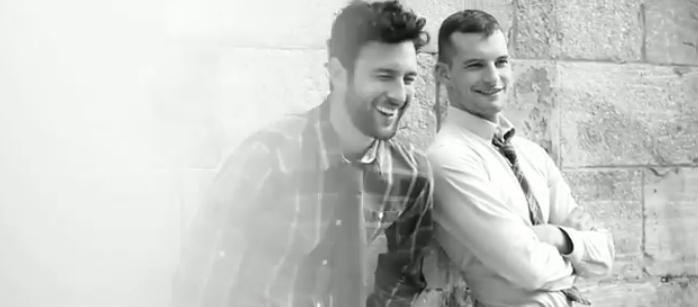 Behind the Scenes | Noah Mills & Chris Folz for Simons Fall 2011