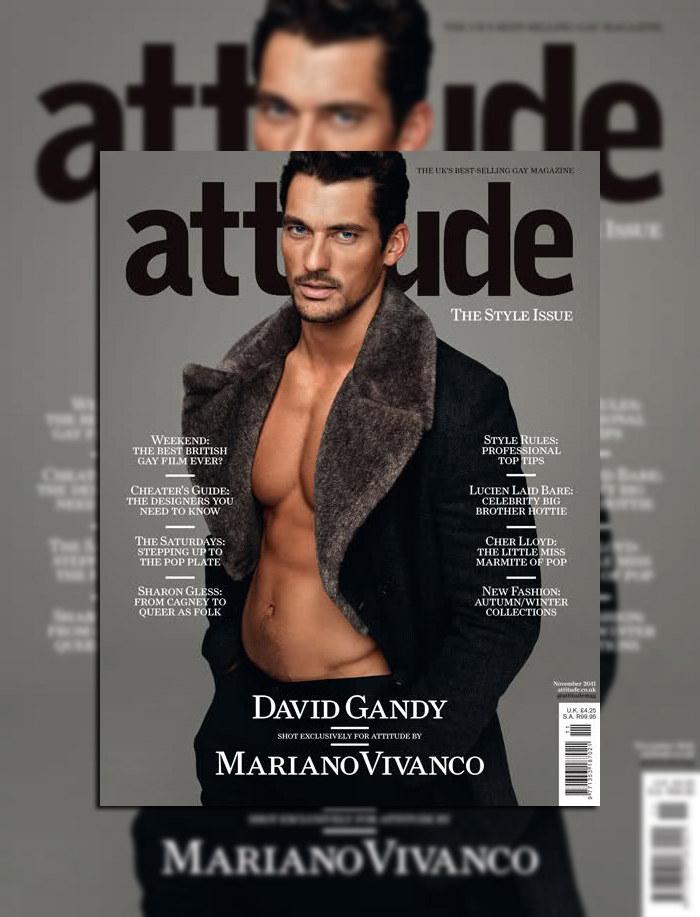 David Gandy by Mariano Vivanco for Attitude