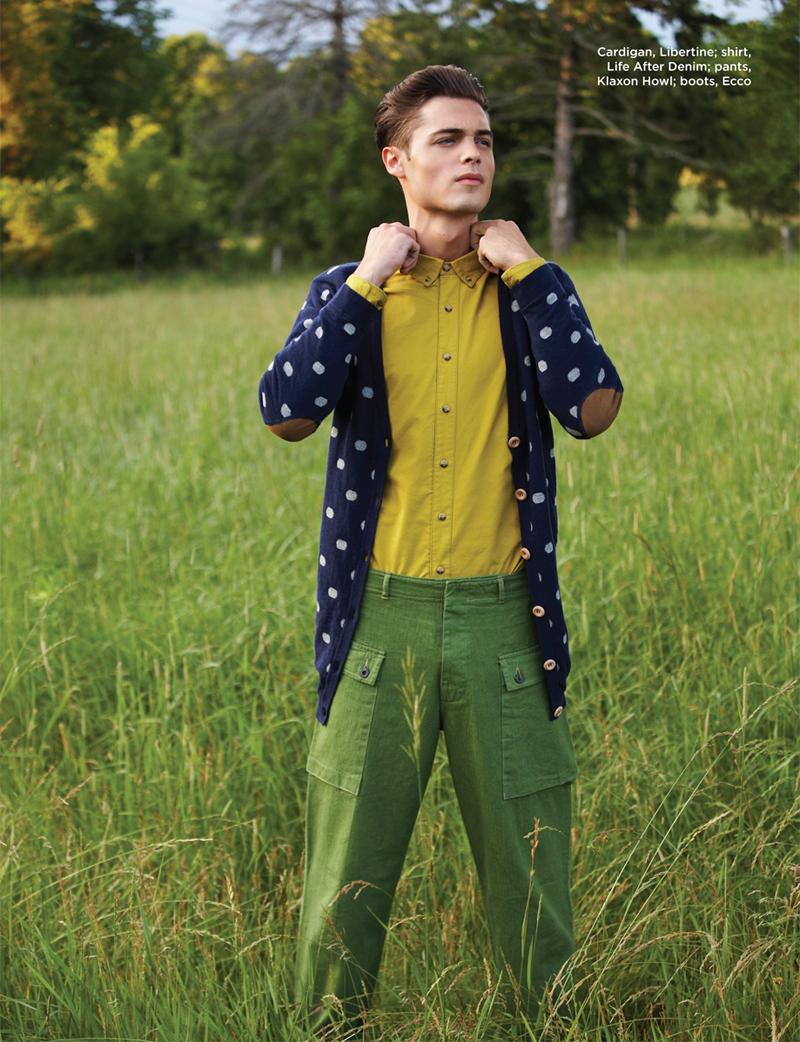 Justin P by Jaclyn Locke for Plaid Magazine