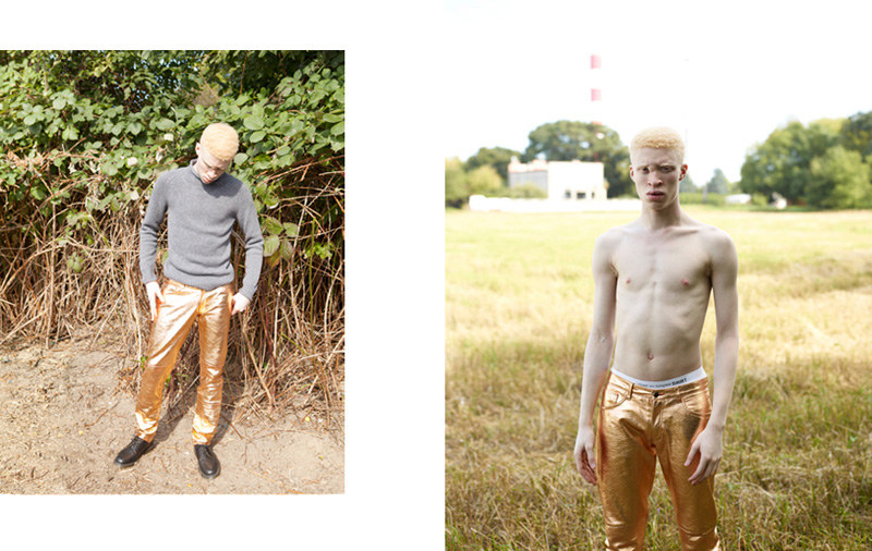 Shaun Ross by Magda Wunsche & Samsel for Exklusiv
