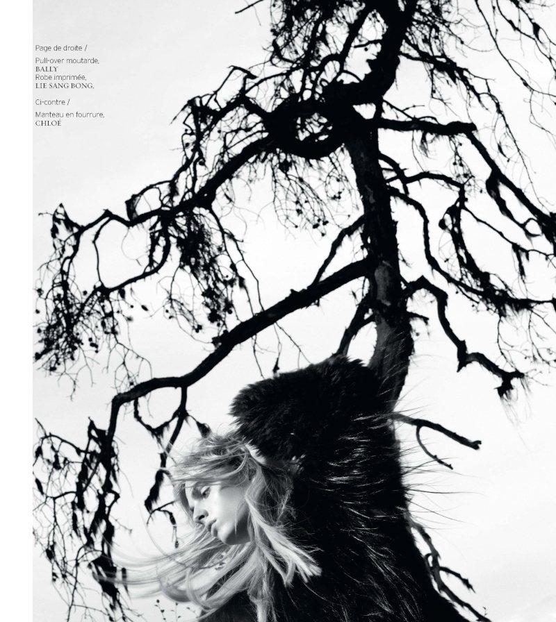 Andrej Pejic by Giulia Noni for French Revue de Modes