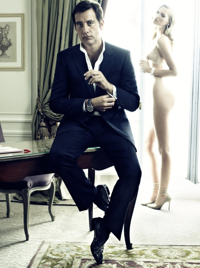 Clive Owen by Alexi Lubomirski for Vogue Spain
