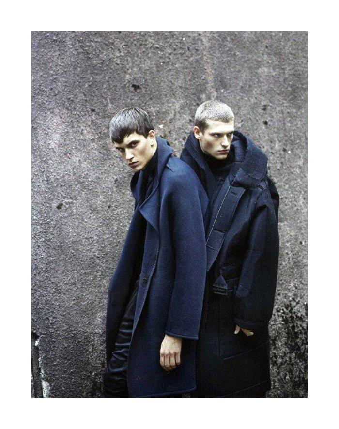 Jakob Wiechmann & Julius Gerhardt by Markus Pritzi for GQ Style Italia