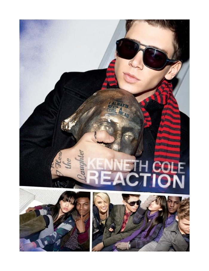 Ty Ogunkoya, Mikus Lasmanis & Cole Mohr by Jason Nocito for Kenneth Cole Reaction Fall 2011 Campaign