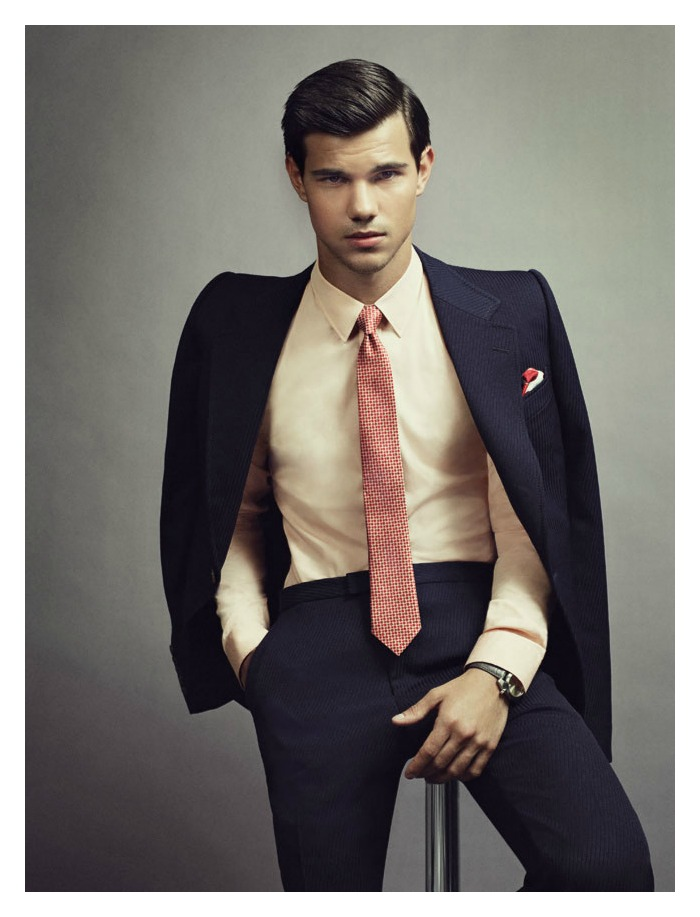 Taylor Lautner by David Slijper for GQ Australia