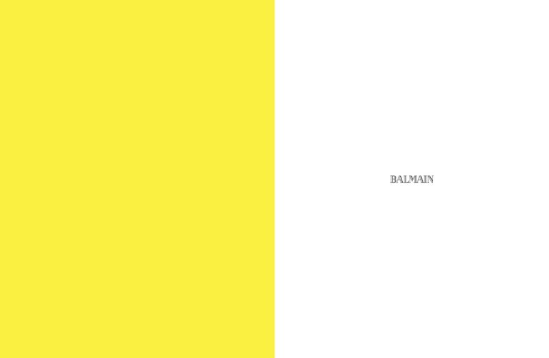 Paolo Anchisi by Karim Sadli for Balmain Spring 2012