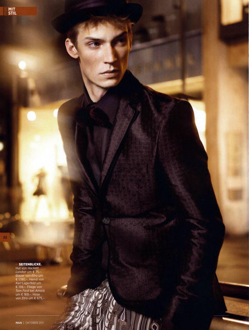 Philipp Bierbaum by Julia Saller for MAN Magazine