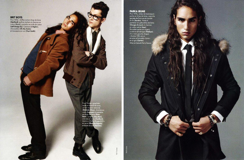 Willy Cartier by Viki Forshee for Elle France