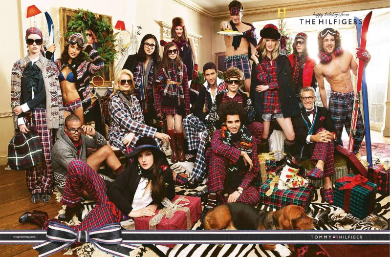 Tommy Hilfiger Holiday 2011 Campaign