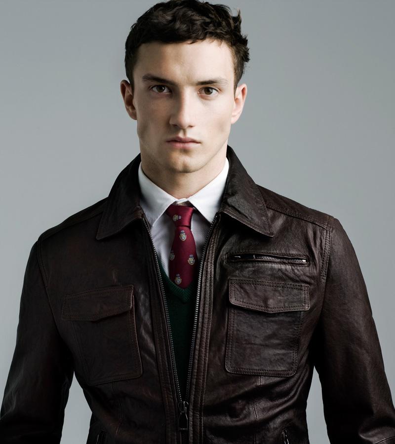 Jacob Coupe for Zara Man Fall 2011 (November 2011)