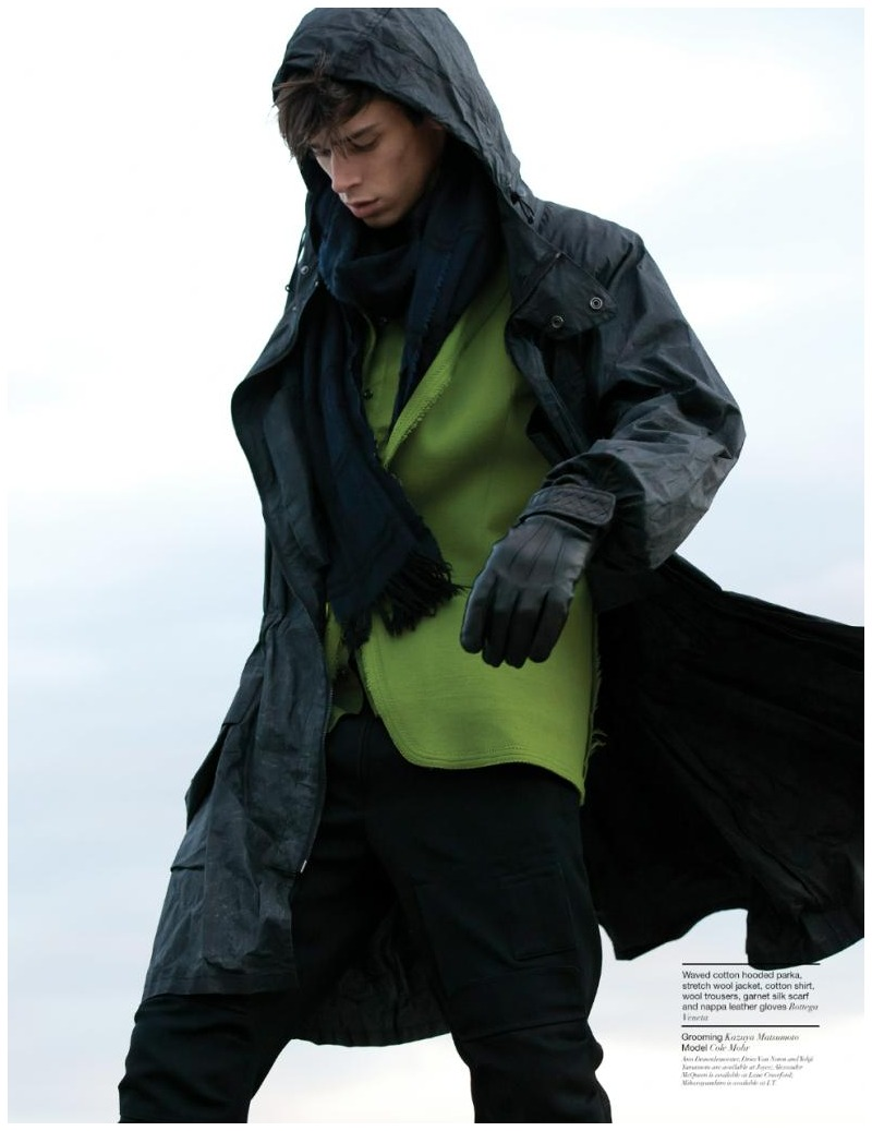 Cole Mohr by Jimmy Ming Shum for Manifesto Hong Kong