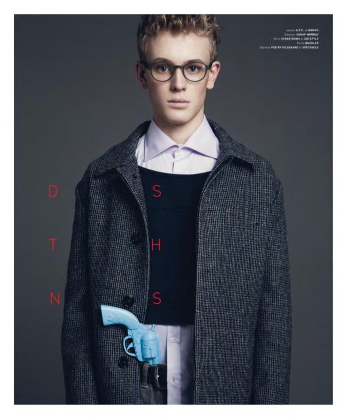 Francis Piennar by Mckenzie James for Pulp Magazine