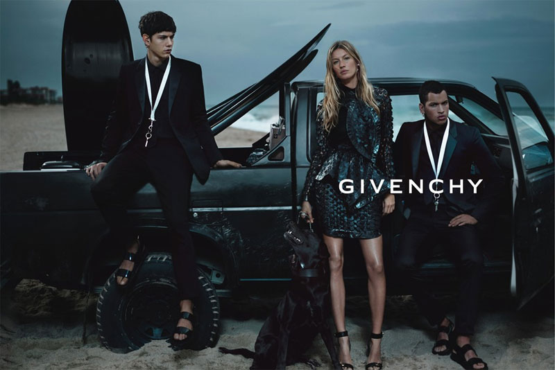 Chris Moore & Simone Nobili by Mert & Marcus for Givenchy Spring/Summer 2012 Campaign (Preview)