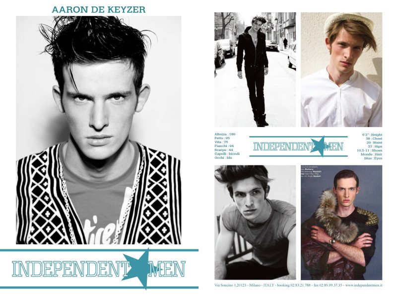 Independent Men Fall/Winter 2012 Show Package