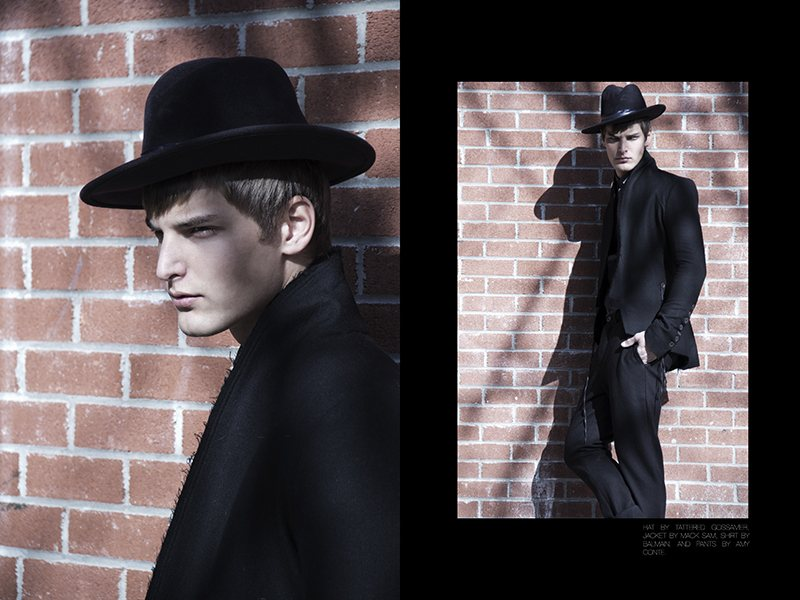 Janos Molnar & Lennart Richter by Brent Chua for Fashionisto Exclusive