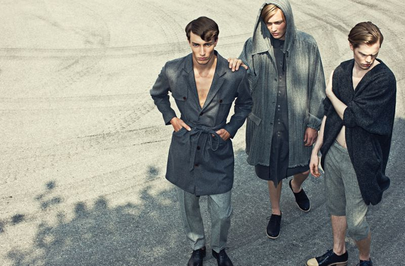 TBT: Magnus, Frans & Joel Embrace Light Winter with Hans Ericksson