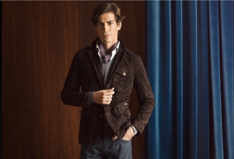 Oriol Elcacho by Gemma Edo for Massimo Dutti Lookbook (December 2011)