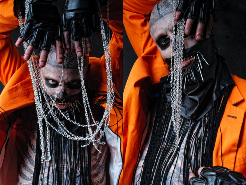 Rick Genest by Bartek Sejwa in This Is Not My Statement