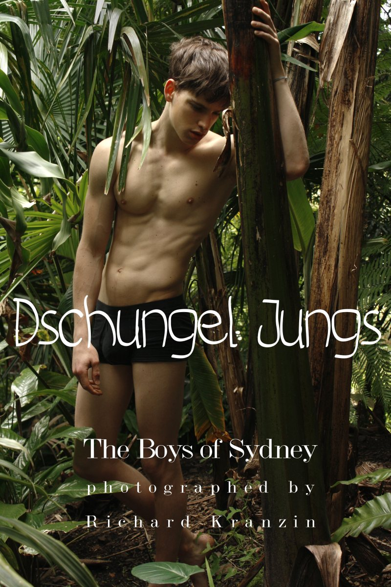 Dschungel Jungs - The Boys of Sydney - Model and photographer, Richard Kranzin travels to Australia and captures the jungle's handsome inhabitants, selecting a fine crop of models from all the local agencies.
