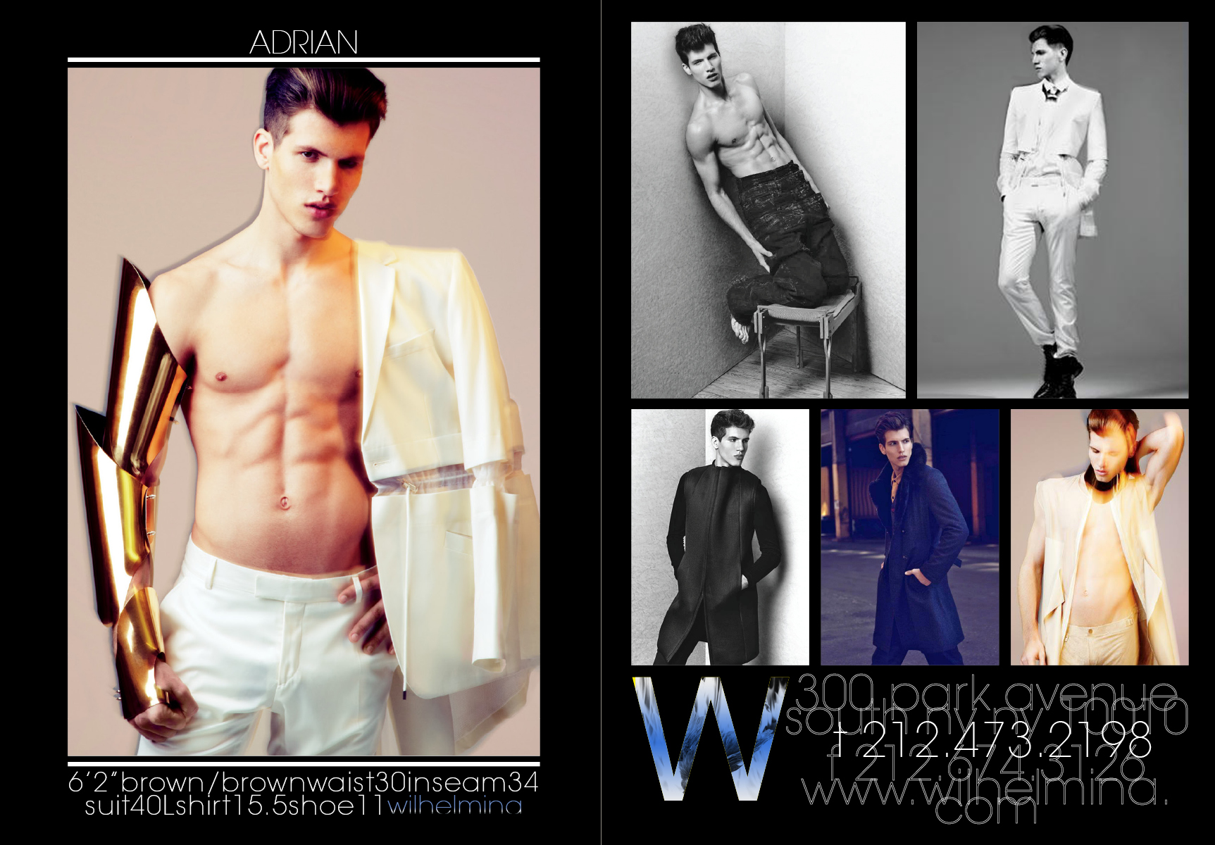 Wilhelmina Fall/Winter 2012 Show Package