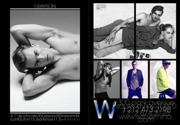 Wilhelmina Fall/Winter 2012 Show Package