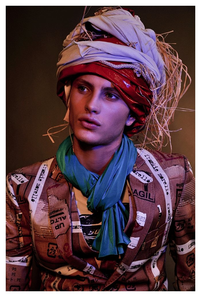 Andrea Bellisario by Omar Macchiavelli for Rocket Magazine