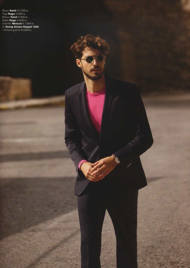 Antonio Navas by Alexander Neumann for Euroman