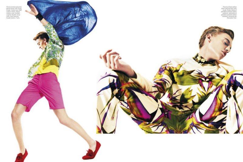 Yurij Romanenko by Micky Wong for Designare Homme
