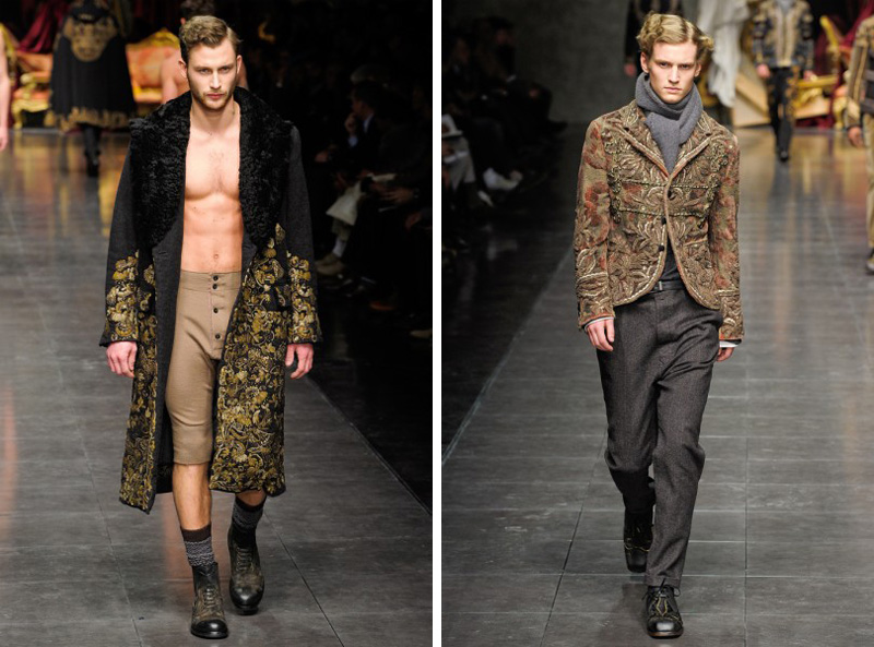 Dolce & Gabbana Fall/Winter 2012 | Milan Fashion Week