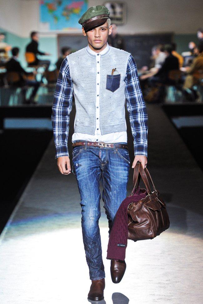Dsquared² Fall/Winter 2012   Milan Fashion Week