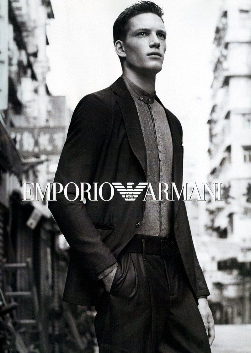 Florian Van Bael By Alasdair Mclellan For Emporio Armani