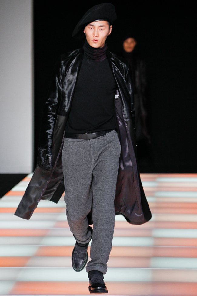 Emporio Armani Fall/Winter 2012 | Milan Fashion Week