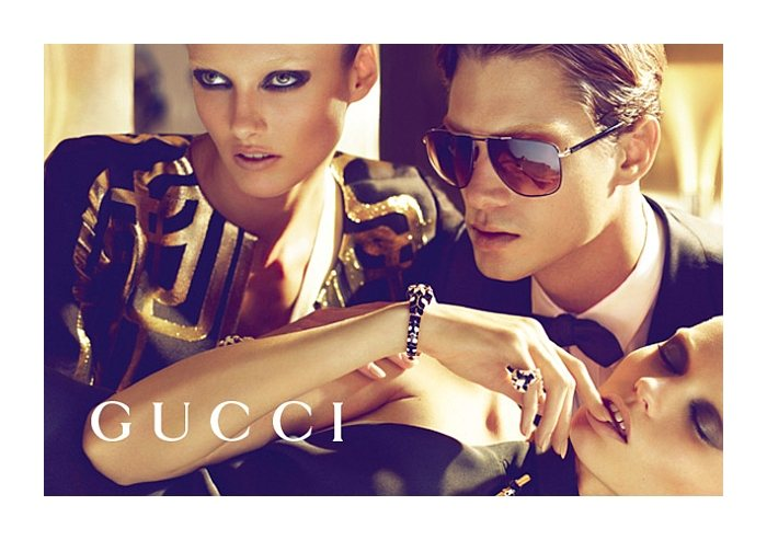Greg Nawrat by Mert & Marcus for Gucci Spring/Summer 2012 Campaign