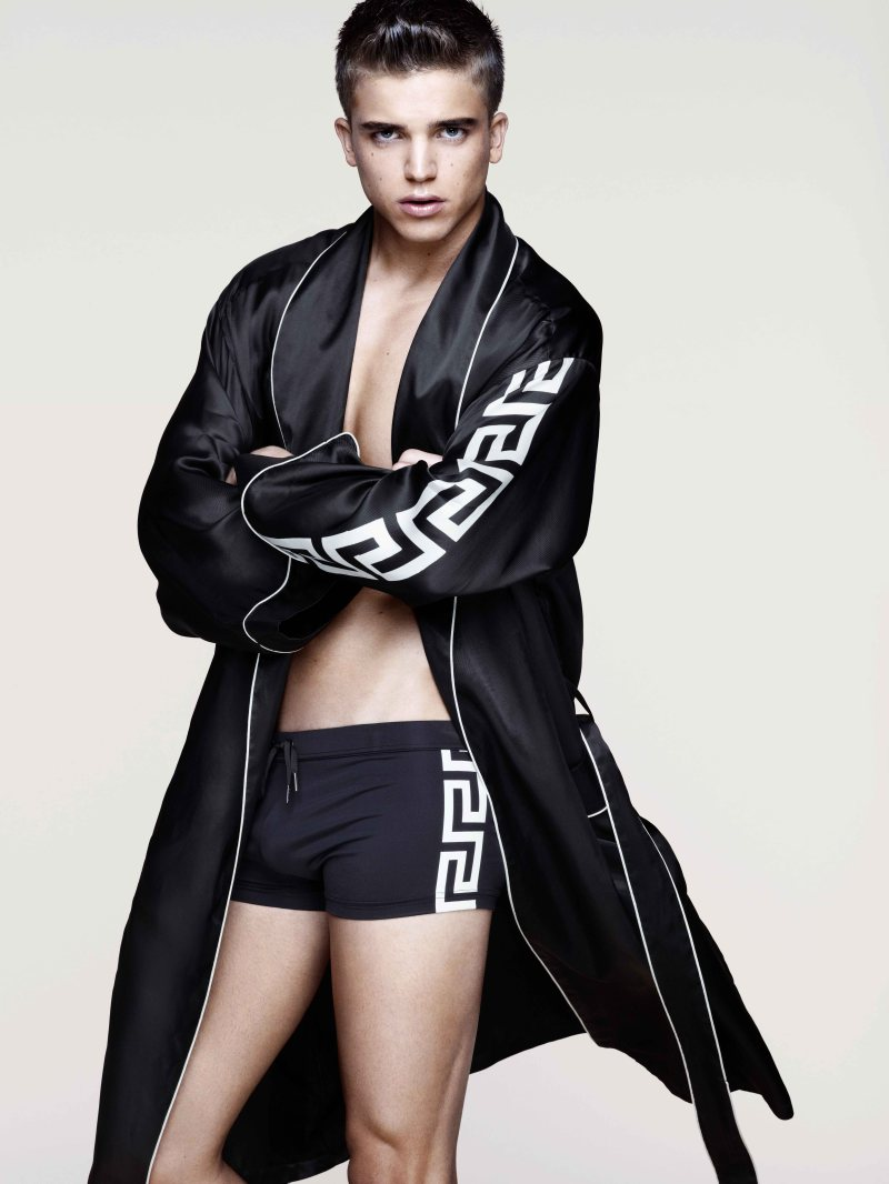 River Viiperi for Versace x H&M Cruise 2012