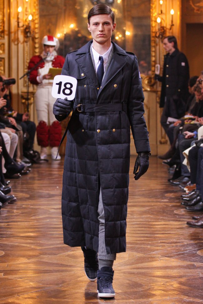Moncler Gamme Bleu Fall/Winter 2012 | Milan Fashion Week image