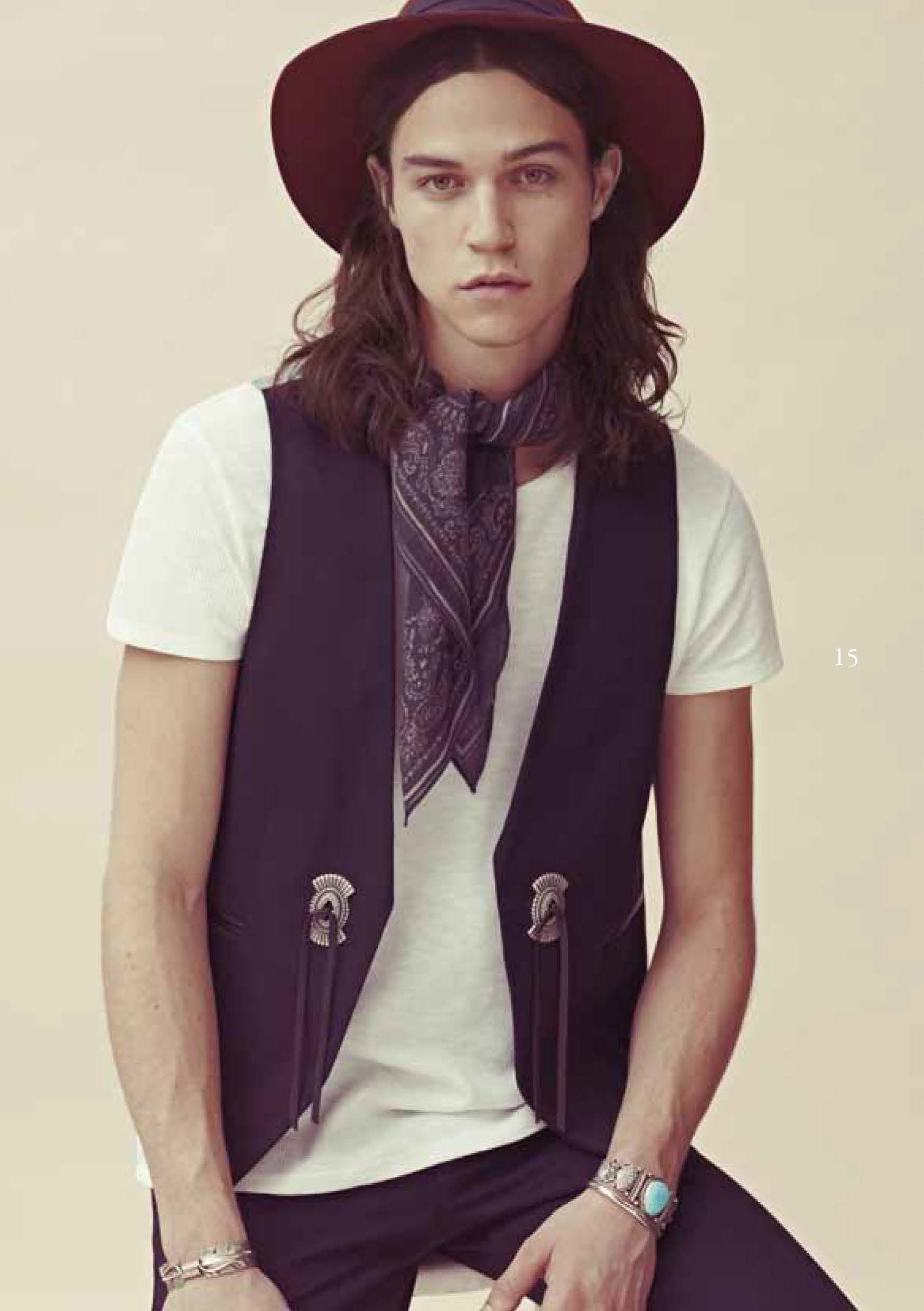 Miles McMillan for Sandro Spring/Summer 2012 image