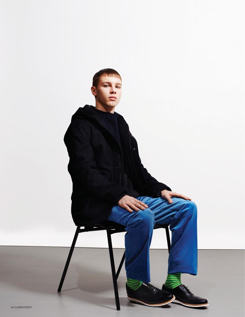Arthur Olecki & Dan Felton by Saty + Pratha for Fashionisto Winter/Spring 2012