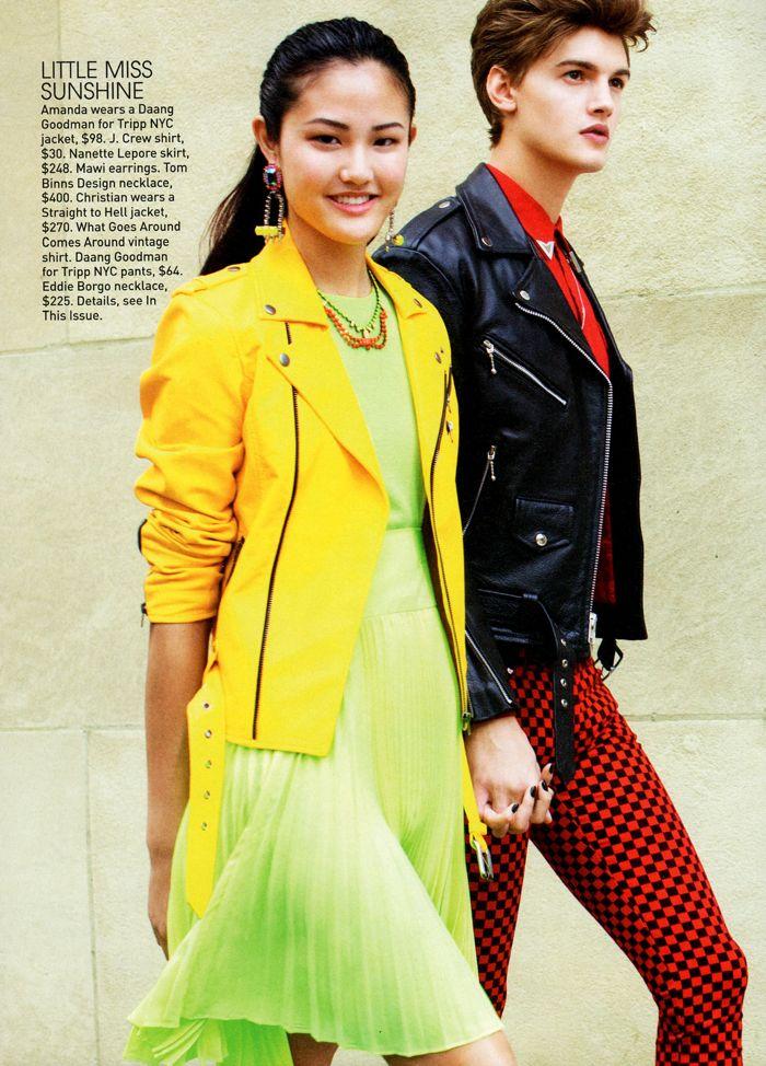 Christian Plauche by Arthur Elgort for Teen Vogue