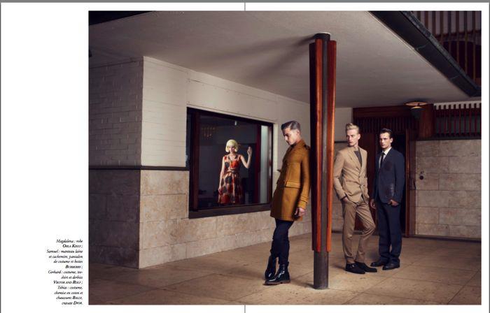 Gerhard Freidl, Tobias Brahmst & Samuel Daynie by Thomas Laisné for Apollo Novo