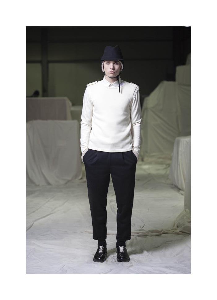 Tadas Naujokaitis by K. Jin for Cy Choi Fall/Winter 2012
