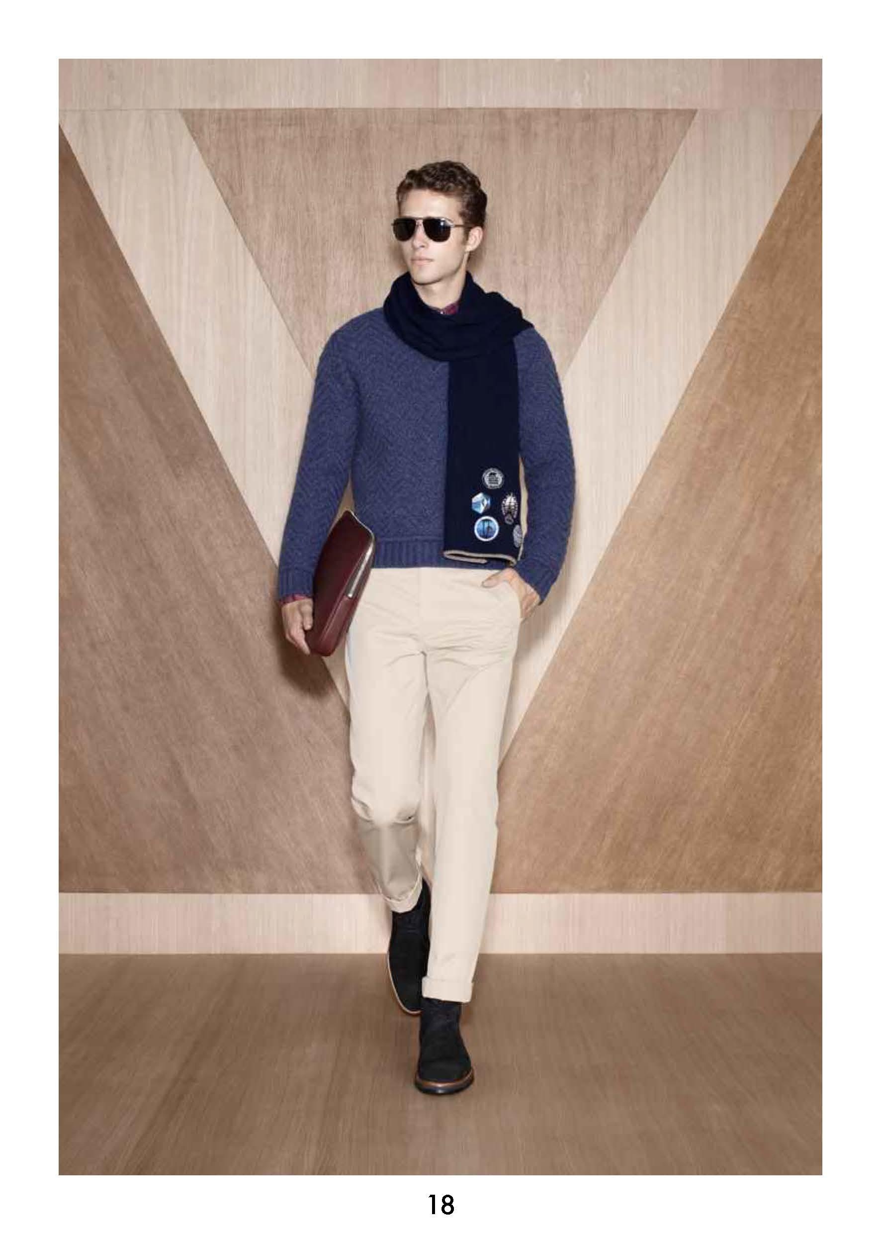 Alexander Johansson & Ryan Taylor for Louis Vuitton Pre Fall 2012  image
