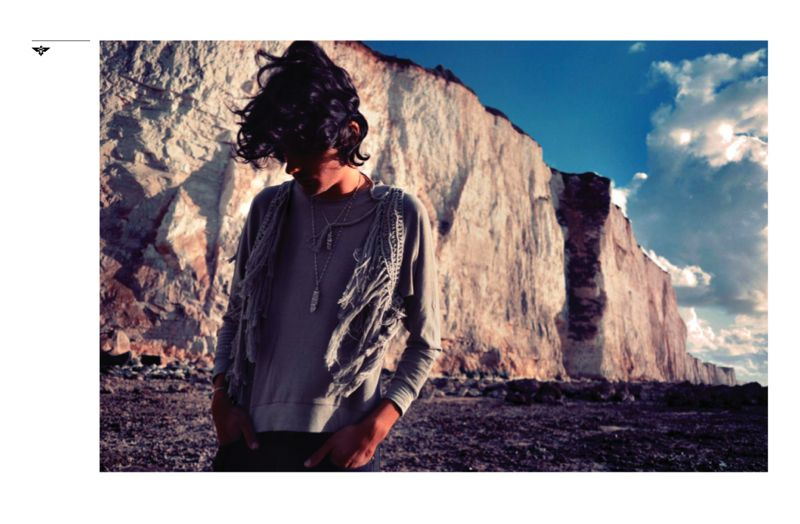Apollo Thomas by Fred Mortagne for Moonchild Spring/Summer 2012