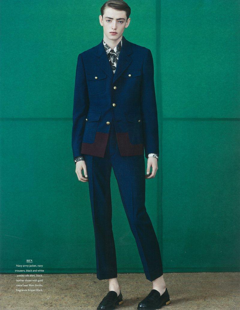 Ben Waters by Ben Weller for Bon Magazine